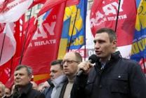 Ukrainian opposition calls on to stop violence