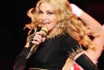 Opinion madonna on stage pussy