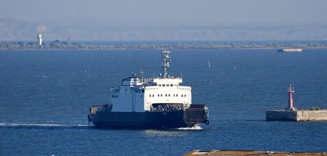 Kerch Ferry Line to operate in limited course for two week