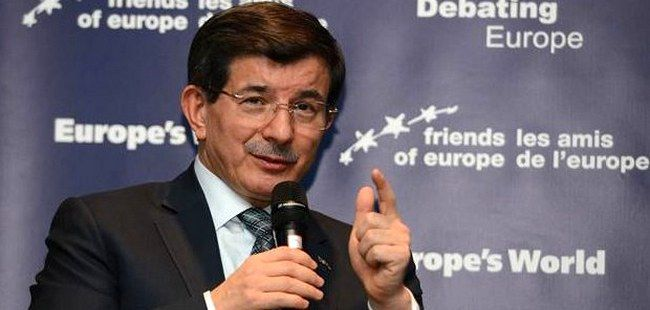 Ukraine should remain a transit country for Russian gas: Davutoglu