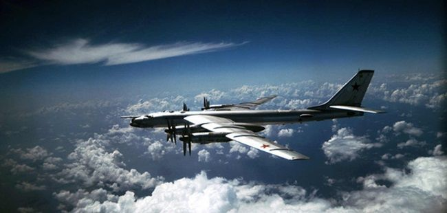 British fighters intercept two Russian bombers over English Channel