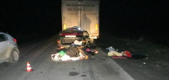 Two killed in a road accident as driving to Crimea