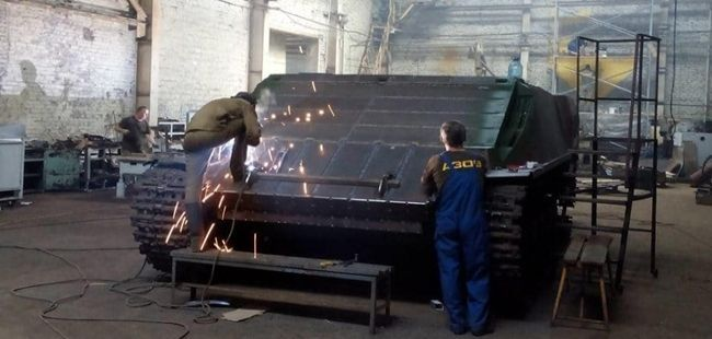 Two-turret tank to be made in Ukraine