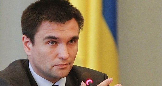 Klimkin: Putin was OK with peacekeepers being deployed in Donbass