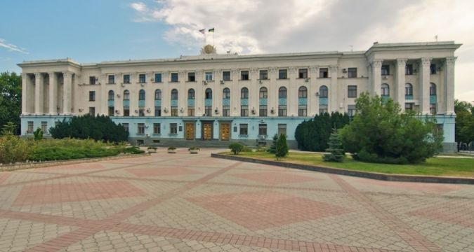 Shots fired at Crimean Council of Ministers building