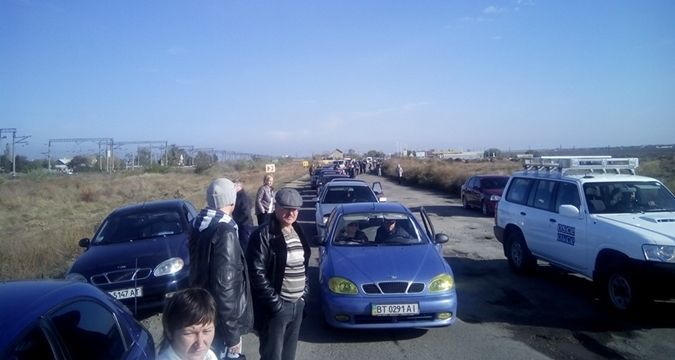Disgruntled taxi drivers to hold protest rally against Crimea's blockade