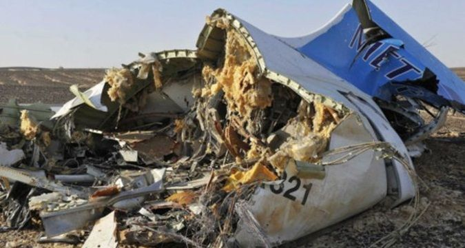 Kremlin considers possibility of terrorist attack on board Airbus A321
