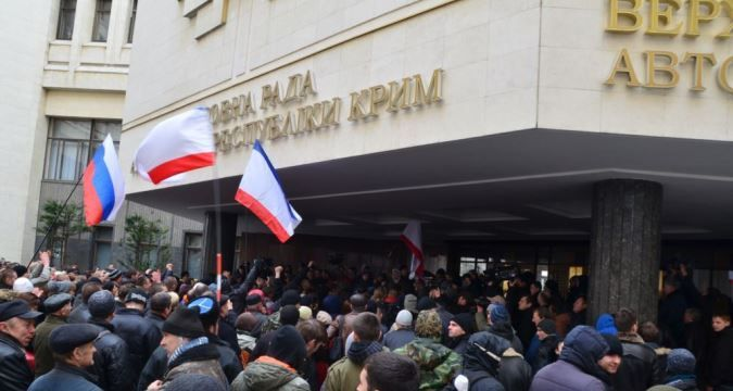February, 26 - Day of Crimean Resistance against Russian aggression