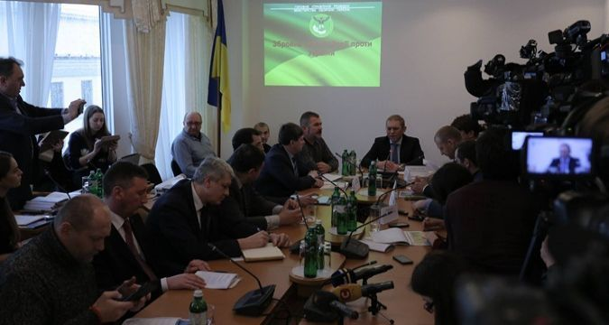 NSDC declassified transcript of meeting on  Crimea annexation