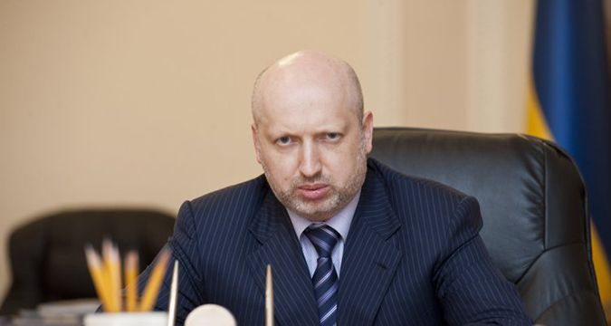 Russia intended to down plane carrying Turchinov to Crimea