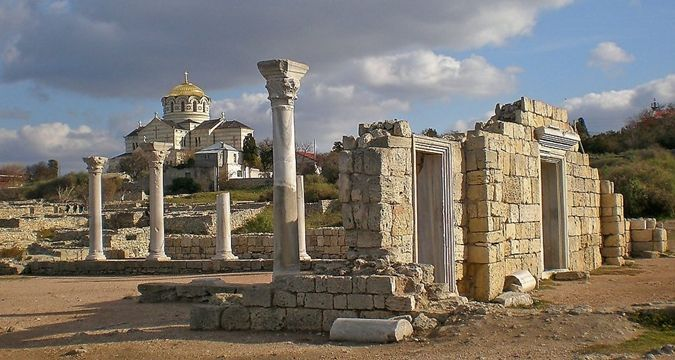 UNESCO not recommends to visit Tauric Chersonese