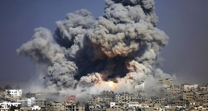 Israeli fighter jets launch airstrikes on Gaza Strip