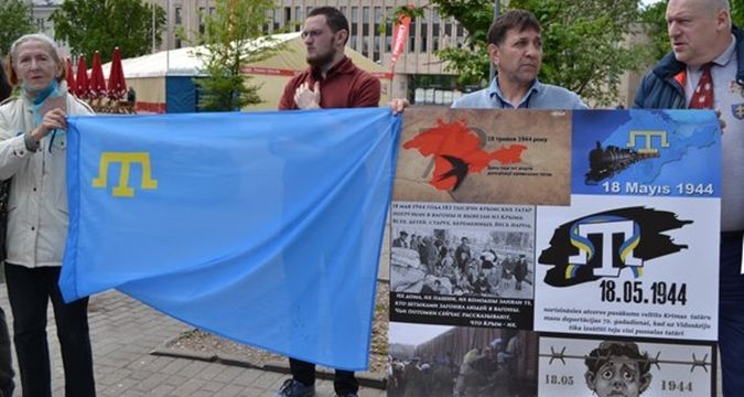 Latvia held rally in memory of deportation victims