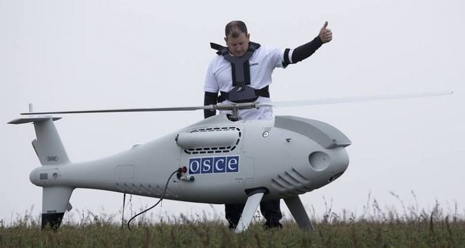 ATO Headquarters: militants downed OSCE drone in Donbas