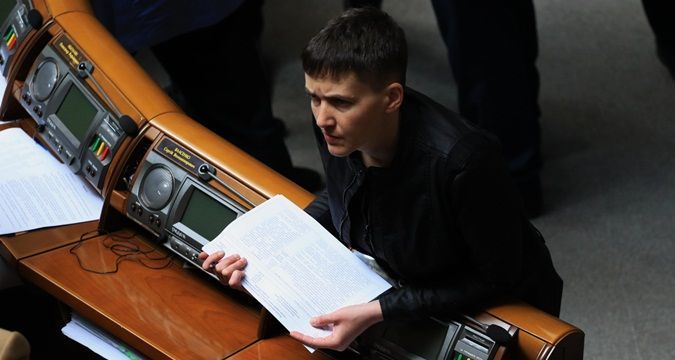 Savchenko ready to go to 'DPR / LPR' without cover