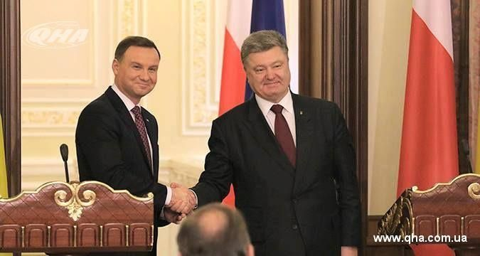 Ukraine thanked Poland for its strong stance on Crimea