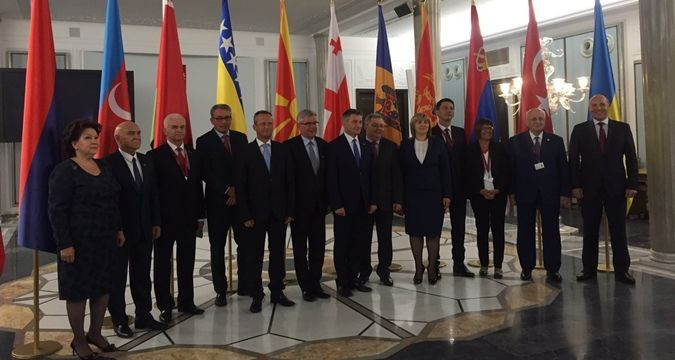 Paruby meets with Heads of European Parliament
