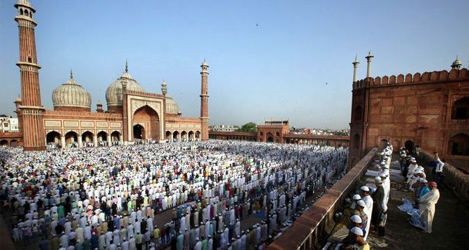 Today Muslims celebrate the Feast of Sacrifice