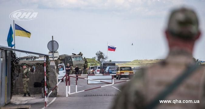 Border guards expect provocations at Crimean border
