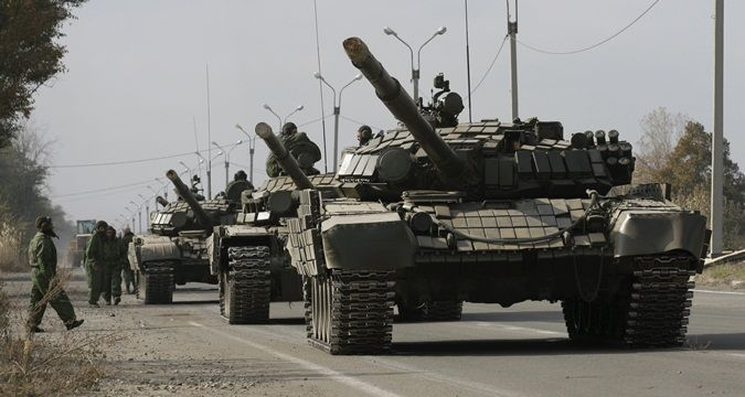 Militants use about 30 types of Russian-produced  weapons