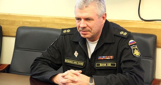 Russian Admiral Vitko to be tried in absentia