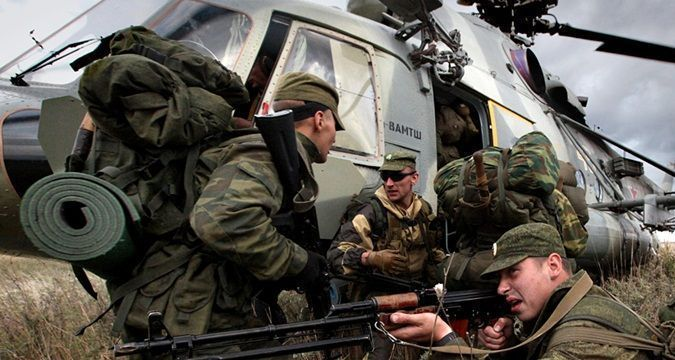 Division that annexed Crimea repositioned in Donbas