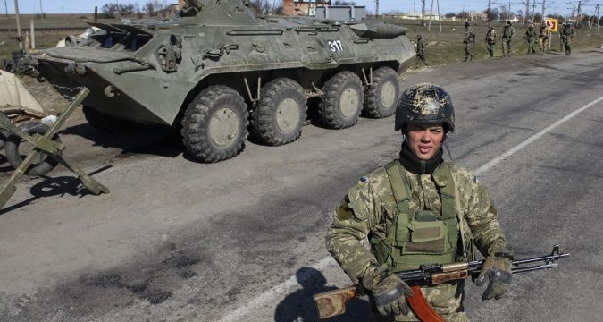 Air intelligence: Invaders' military bases in Crimea