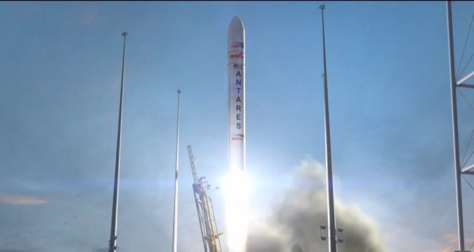 US launches Antares rocket with Ukrainian stage