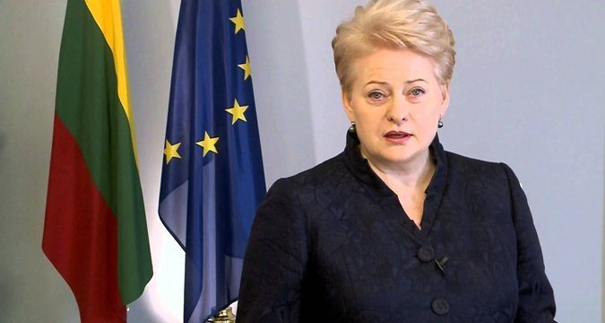 Grybauskaite: Russia's 'Iskanders' intended to attack