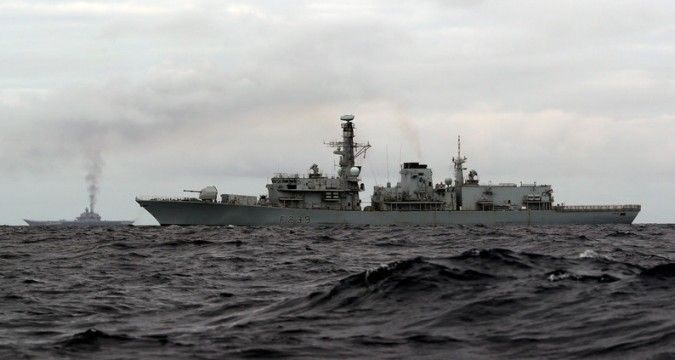 Ships of Russian Navy are heading to Scotland