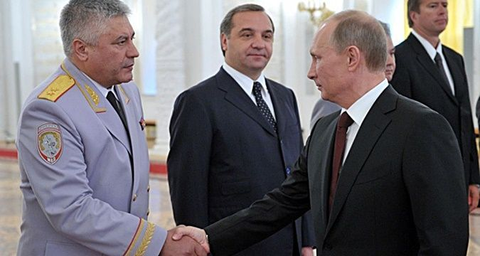 Putin signed decree on appointment of a collaborator