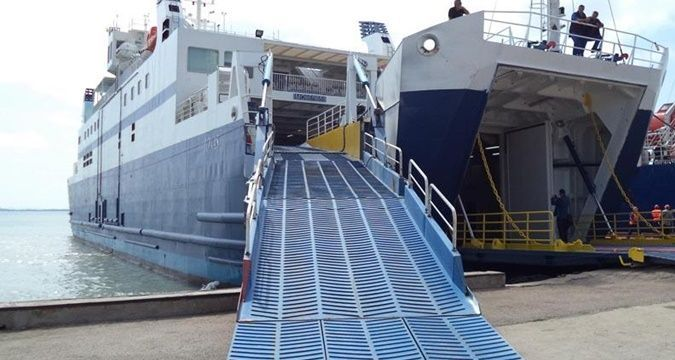 Ferry line between Turkey and Crimea resumed