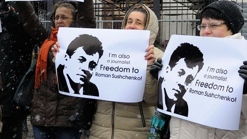 Russia: Arrest of Ukrainian journalist extended