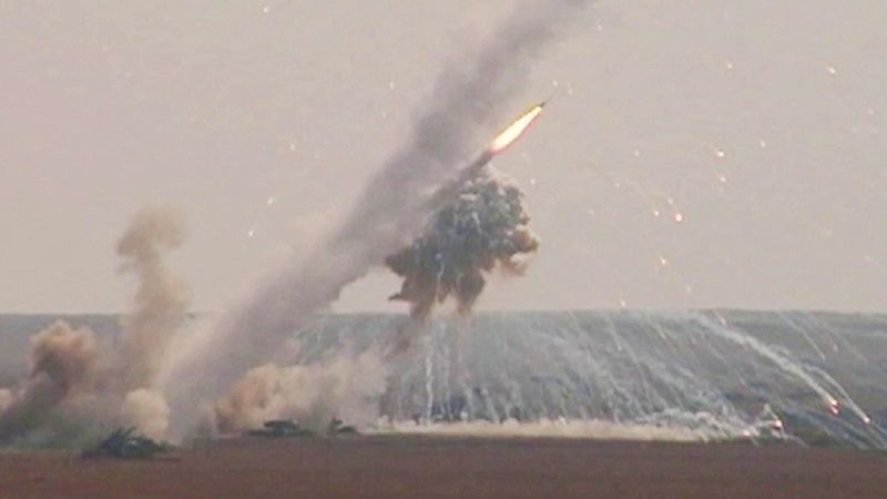 Defense Ministry: Missile exercises are underway