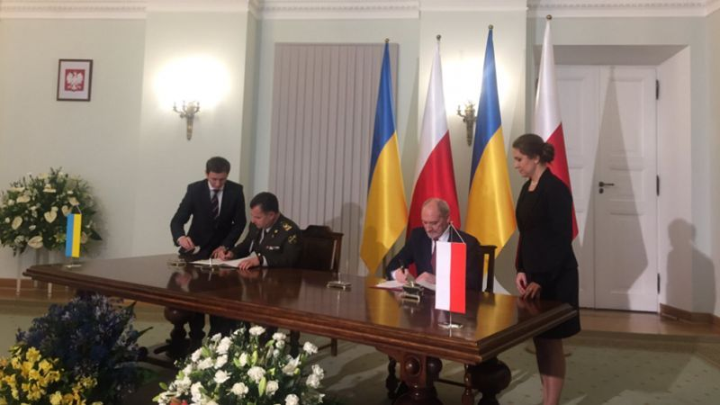 Poland and Ukraine to cooperate in almost all military areas