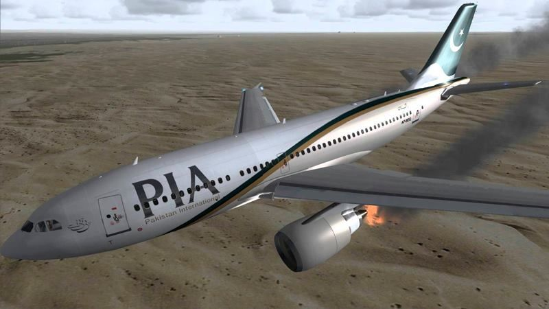 Plane with 47 passengers crashed in Pakistan