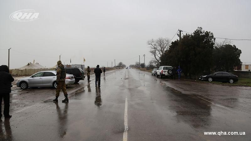 Russian FSB detained two Ukrainians on border with Crimea