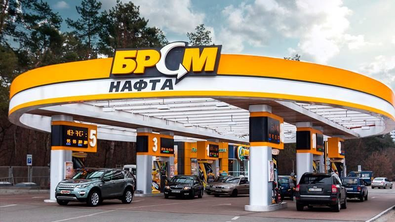 Brand of Ukrainian filling station chain used illegally in Crimea