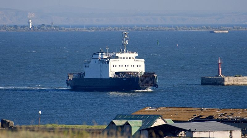 Marine incident occurred in the Kerch Strait