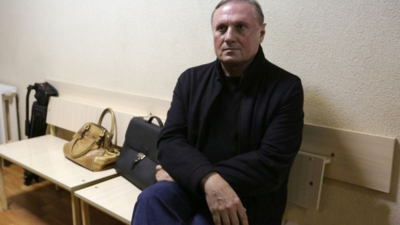 Yefremov as well as his lawyers ignored court