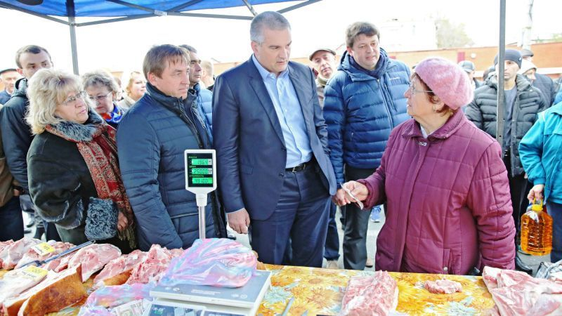 """Crimean """"authorities"""" lost confidence in occupant country's goods"""