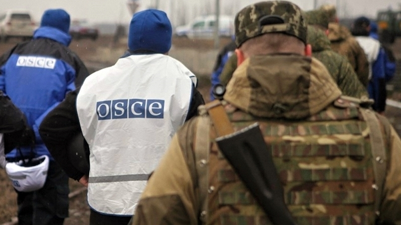 OSCE recorded highest intensity of attacks in the Donbas