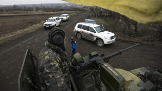 ORDLO Militants searched and delayed OSCE SMM members