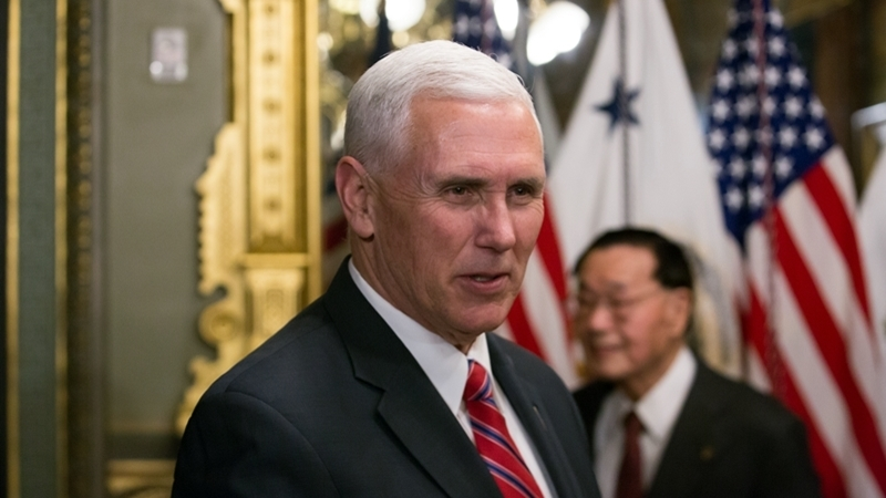 Pence: Russia must be held accountable for actions in Ukraine