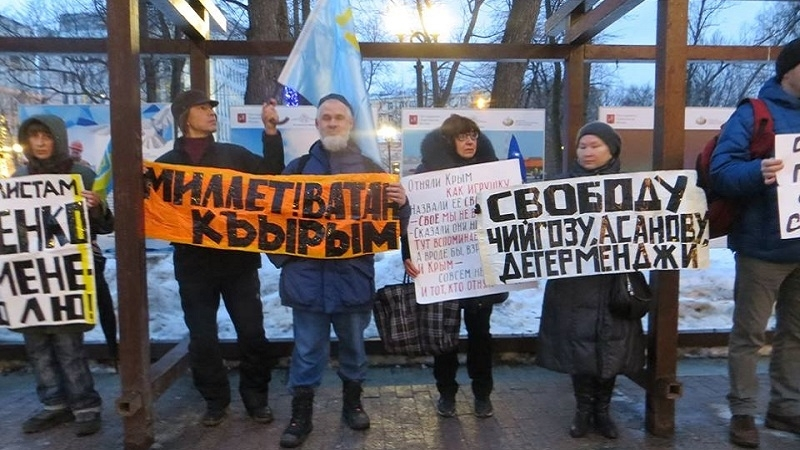 People of Russia support Crimean Tatars and Ukrainians