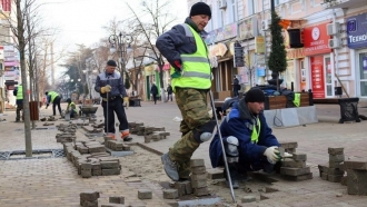 "Another ""success"" in repairing Simferopol city center"