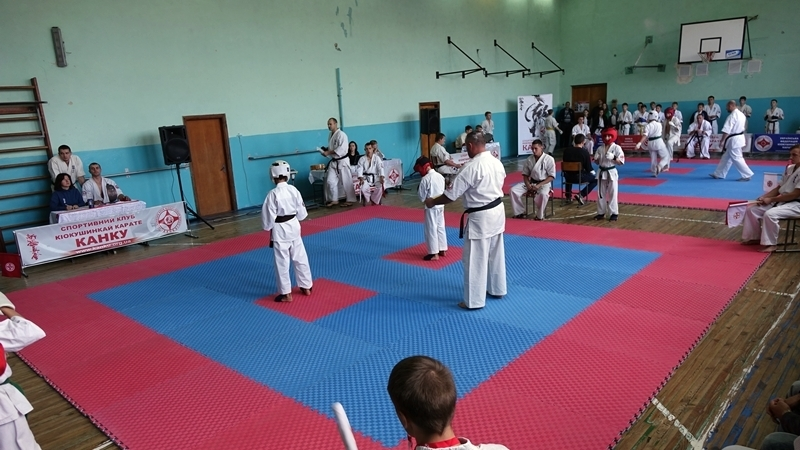 In Ukraine young Crimean won two karate tournaments in a row