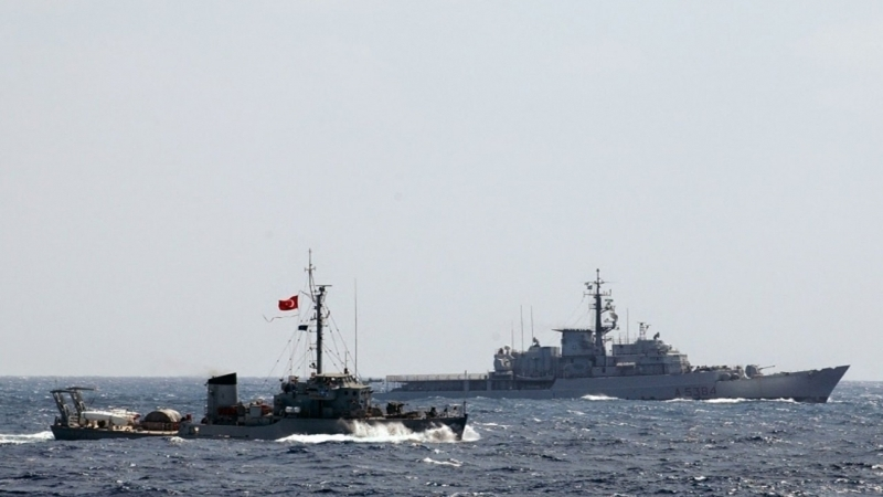 Turkish Navy to conduct military exercises in Black Sea