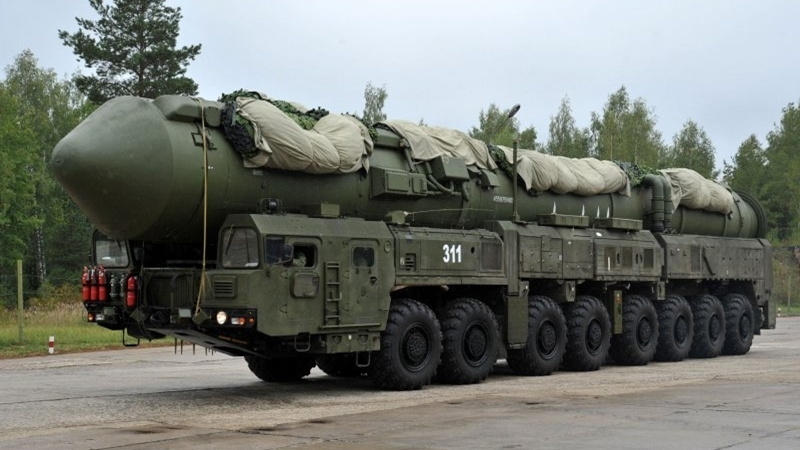 Parubiy: RF turns Crimea into military base for nuclear weapons