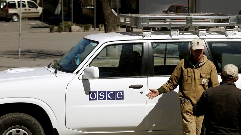 Militants staged provocation against OSCE patrol near Mariupol